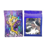 Weed Lovers Shop Safe Tools 50 pcs 1 / as picture 7x10 CM 3.5 Grams Cartoon Weed Bags