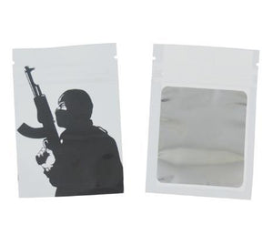 Weed Lovers Shop Safe Tools 30 pcs 3 / as picture 7x10 CM 3.5 Grams Cartoon Weed Bags