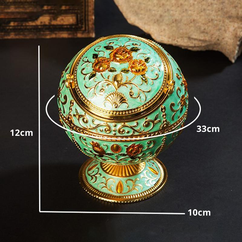 Weed Lovers Shop Ashtrays Antique Style Round Ball Ashtray