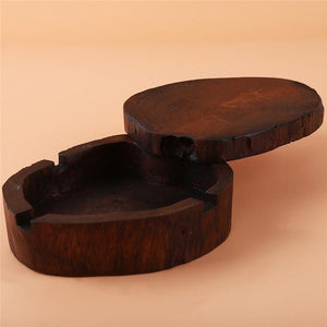 Weed Lovers Shop Ashtrays Beautiful Wood Ashtray With Lid