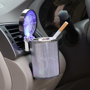 Weed Lovers Shop Ashtrays Car Ashtray with LED Light