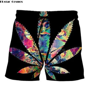 Weed Lovers Shop Clothes 10 / S Crossed Joints Weed Beach Shorts