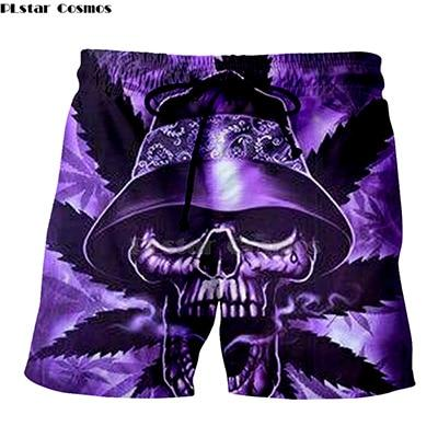 Weed Lovers Shop Clothes 5 / XXXL Crossed Joints Weed Beach Shorts