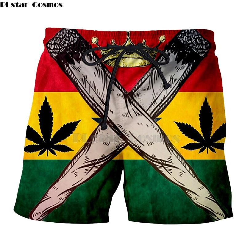 Weed Lovers Shop Clothes Crossed Joints Weed Beach Shorts