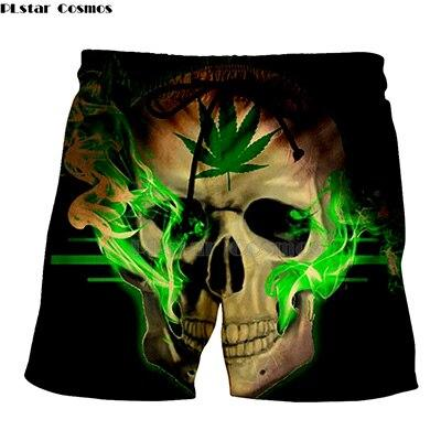 Weed Lovers Shop Clothes 4 / XXXL Crossed Joints Weed Beach Shorts