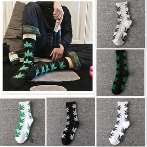 Weed Lovers Shop Socks High Quality Weed Leaf Cotton Socks