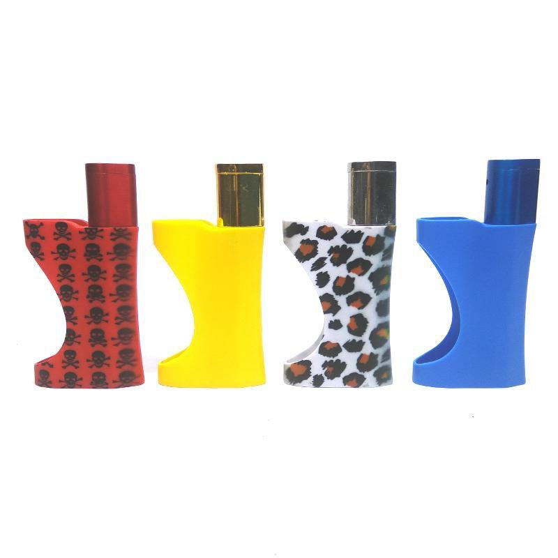 Weed Lovers Shop Pipes Pipe with Built in lighter