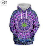 Weed Lovers Shop Clothes Psychedelic Weed Hoodie