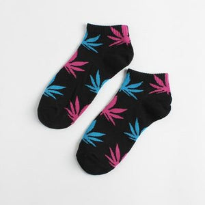 Weed Lovers Shop Socks 21 / US 6-9 Unisex Fashion Cotton Weed Socks