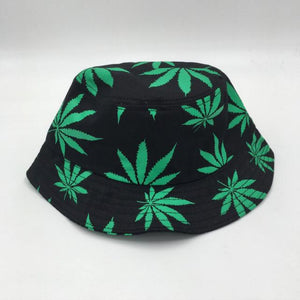 Weed Lovers Shop Clothes Green Weed Lead Bucket Hat