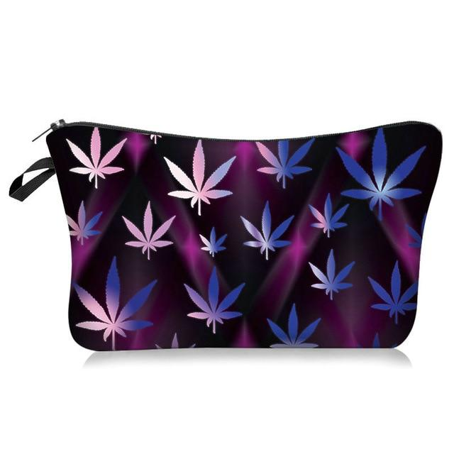 Weed Lovers Shop Safe Tools G Weed Leaf Print Smell Proof Bag