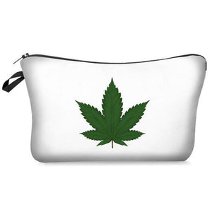 Weed Lovers Shop Safe Tools E Weed Leaf Print Smell Proof Bag