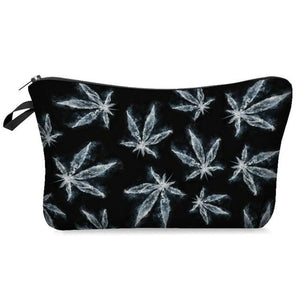 Weed Lovers Shop Safe Tools C Weed Leaf Print Smell Proof Bag