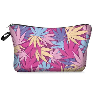 Weed Lovers Shop Safe Tools B Weed Leaf Print Smell Proof Bag