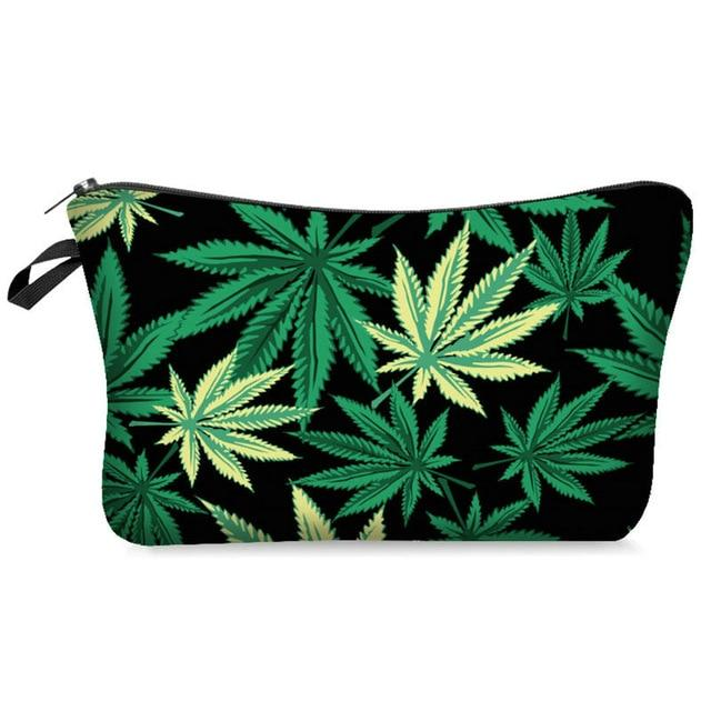 Weed Lovers Shop Safe Tools A Weed Leaf Print Smell Proof Bag
