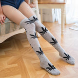 Weed Lovers Shop Clothes FYC6 Weed Leaf Stockings