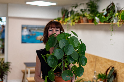 Colony Founder Claire - Loves a natter, particularly about plants - not necessarily whilst hiding behind them