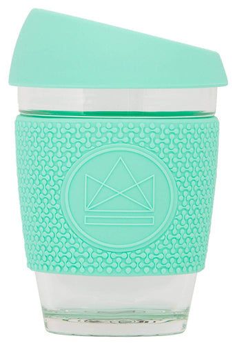 Neon Kactus Reusable Glass Coffee Cup - Free Spirit