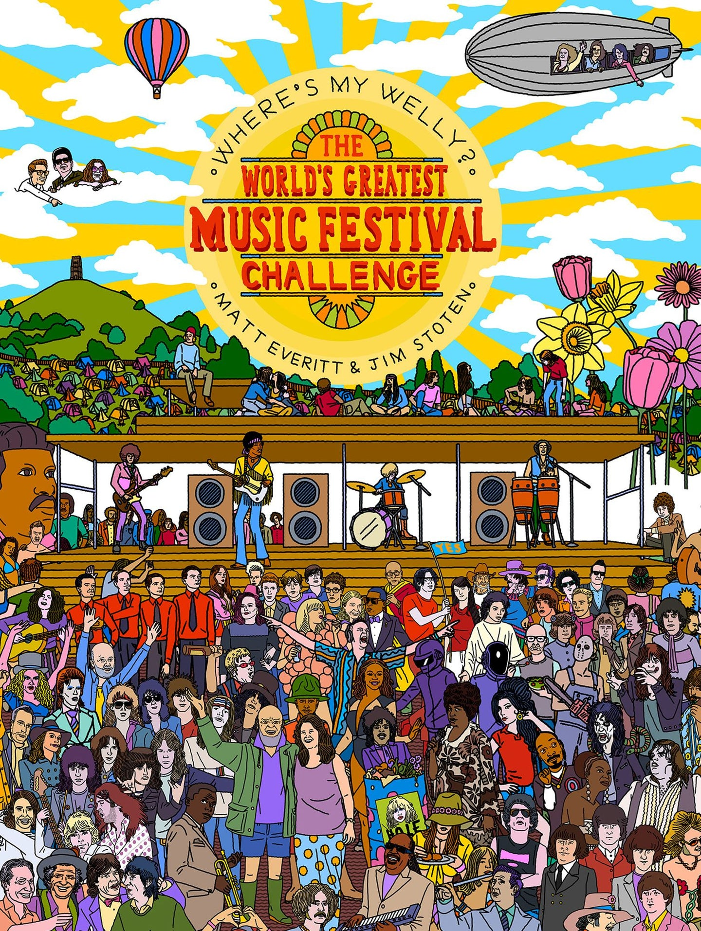 Where's My Welly: The Greatest Music Festival Challenge