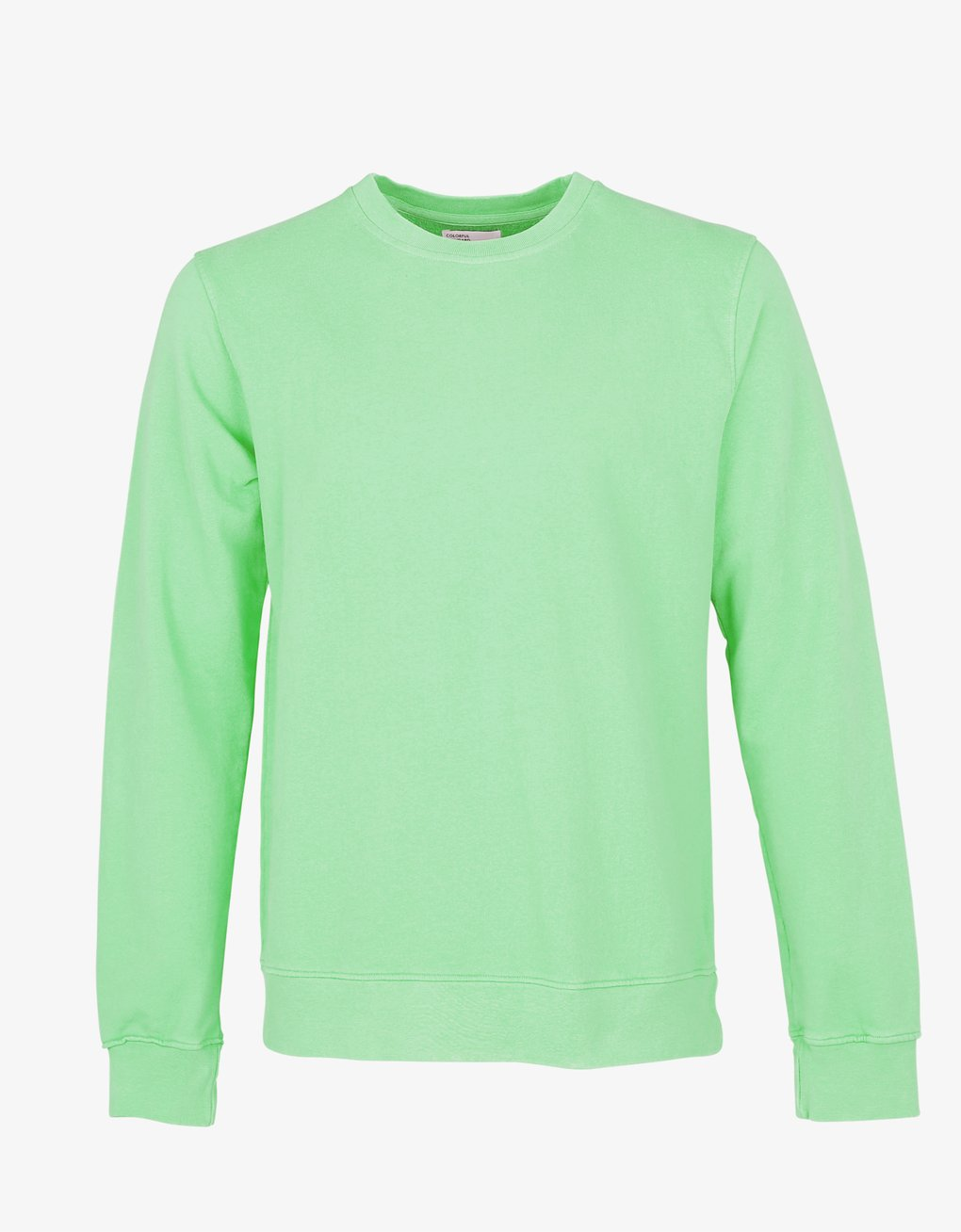 Unisex Classic Organic Crew Sweater - Faded Mint
