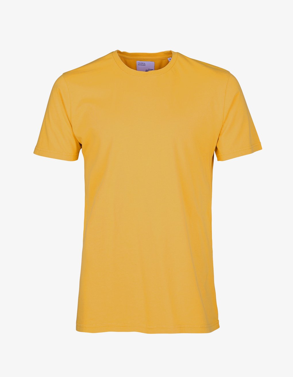 Unisex Classic Organic Tee - Burned Yellow