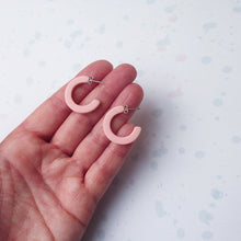 Elpis Earrings - Dusty Pink