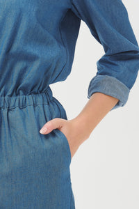 Coralie Chambray Jumpsuit