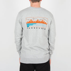 Sprocket Sweatshirt - Grey Marl