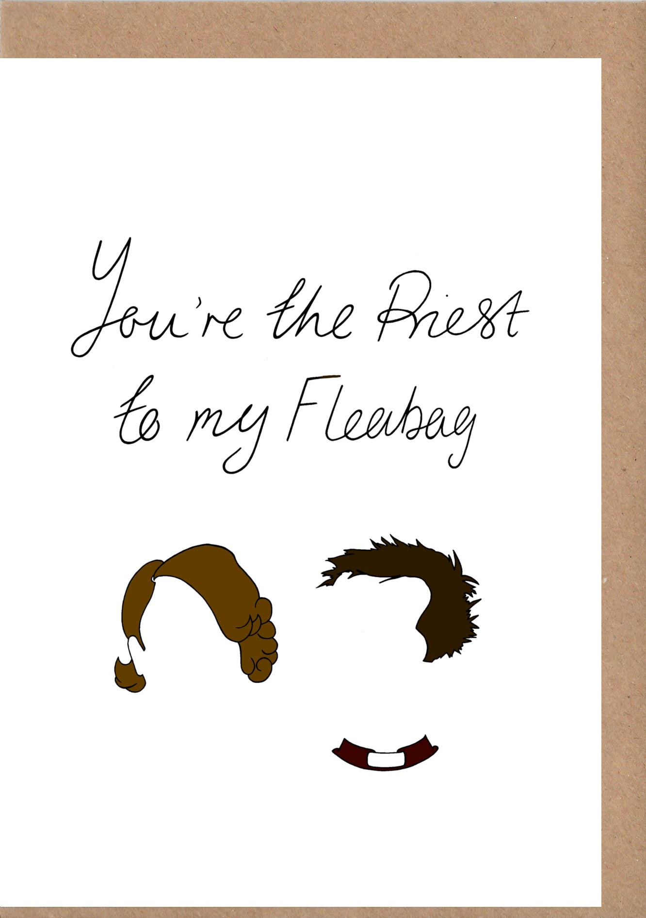 Fleabag Greetings Card