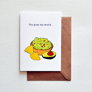 Guac Greetings Card