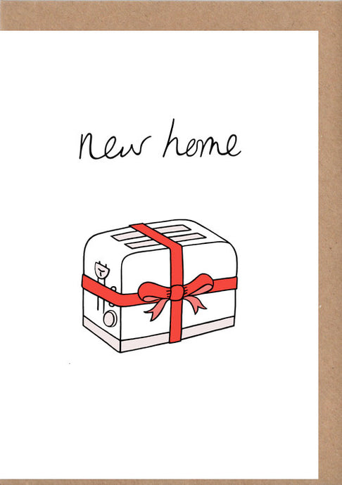 New Home Greetings Card