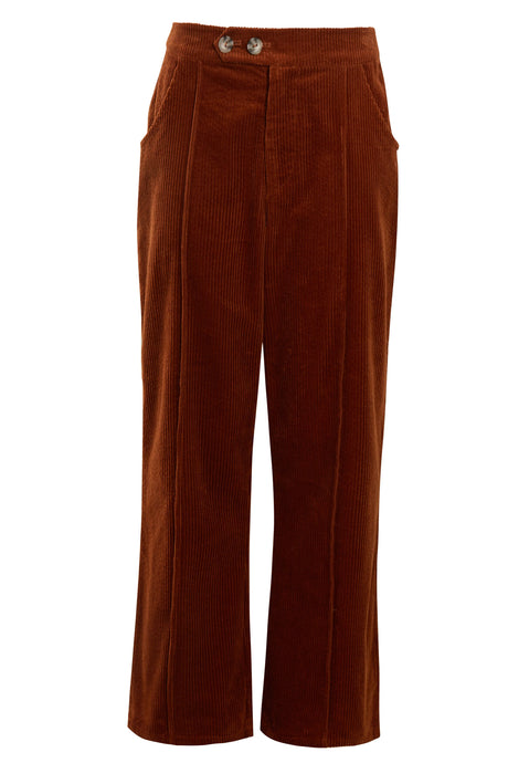 The Meghan Pant - Rust