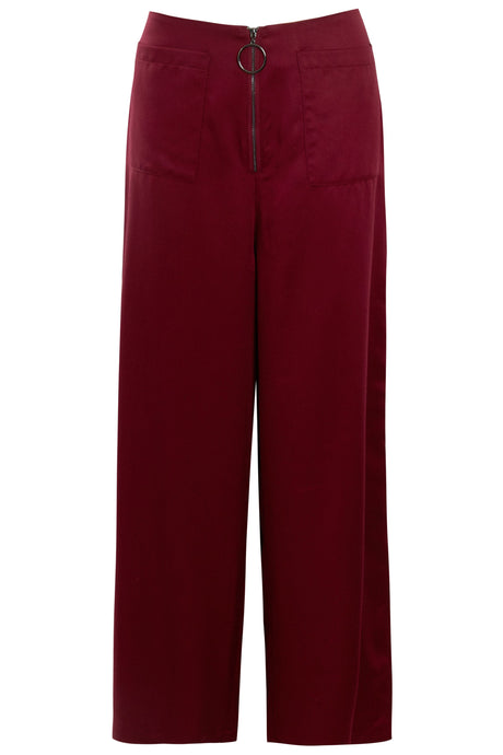 The Mia Pant - Burgundy