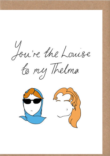Thelma & Louise Greetings Card