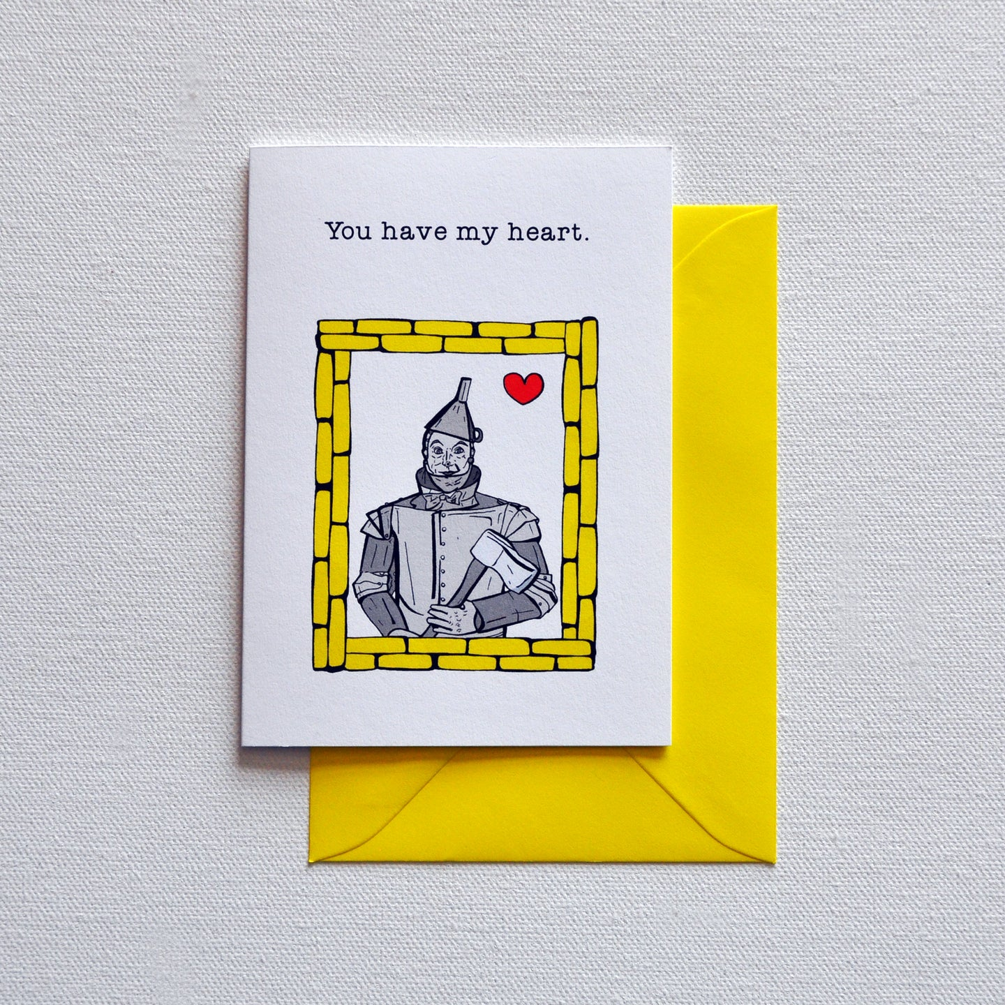 Tinman Greetings Card