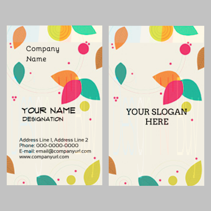 Visiting Card – 2 X 3.5 Inch