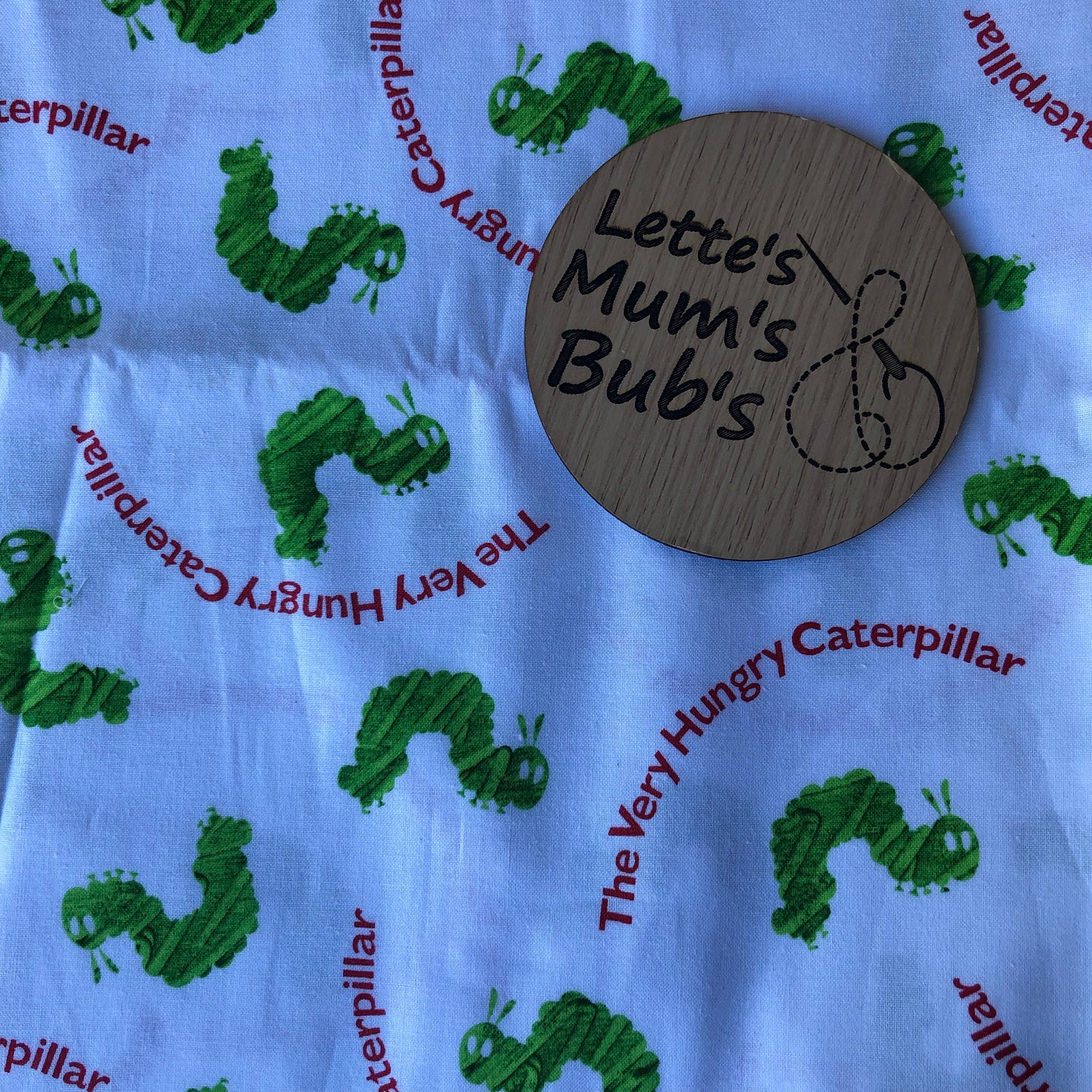 Hungry Caterpillar Taggie Comforter Blanket 30x30cm