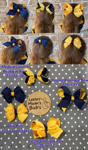 PRSS Medium Double Boutique Bow 10pk Custom Order