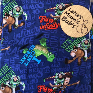 Toy Story Navy Taggie Comforter Blanket 30x30cm