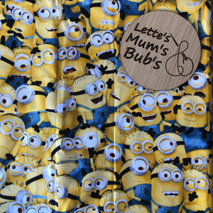 Minions Taggie Comforter Blanket 30x30cm