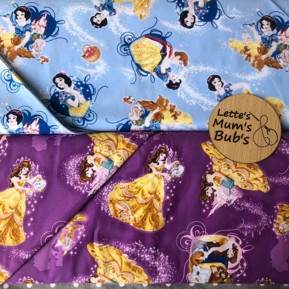 Beauty & The Beast Taggie Comforter Blanket 30x30cm