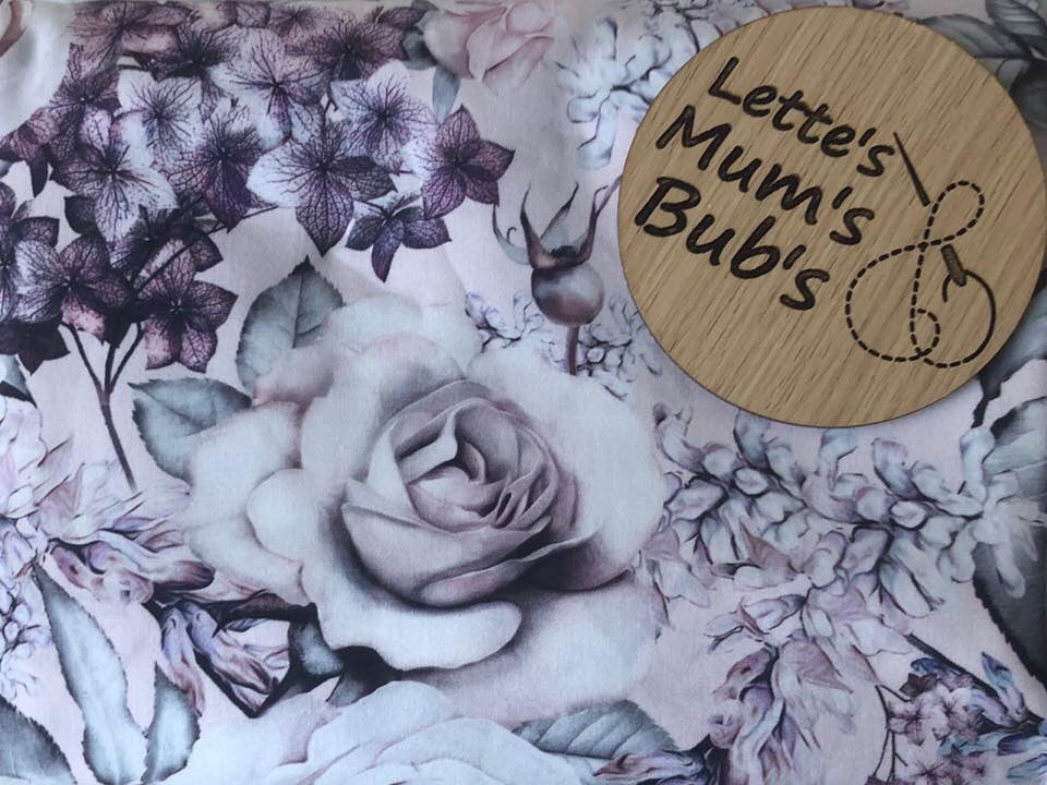 Floral Cream Universal Pram Liner + Strap Covers