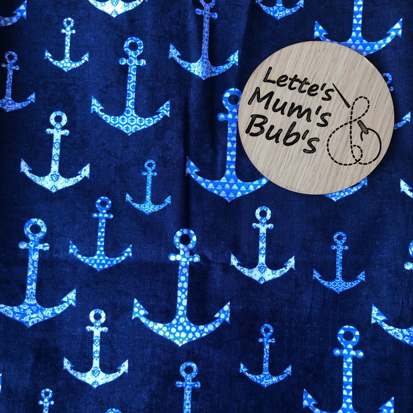Anchors Taggie Comforter Blanket 30x30cm