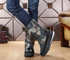 Unisex Anti-Slip Mid Calf Winter Boots