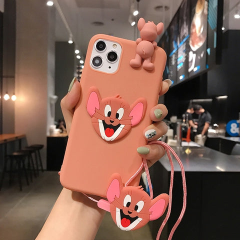 Tom and Jerry iPhone Cases