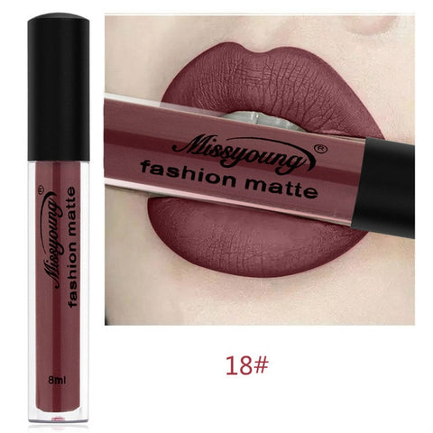 Sexy Red Matte Lip gloss Liquid Matte Long Lasting Waterproof