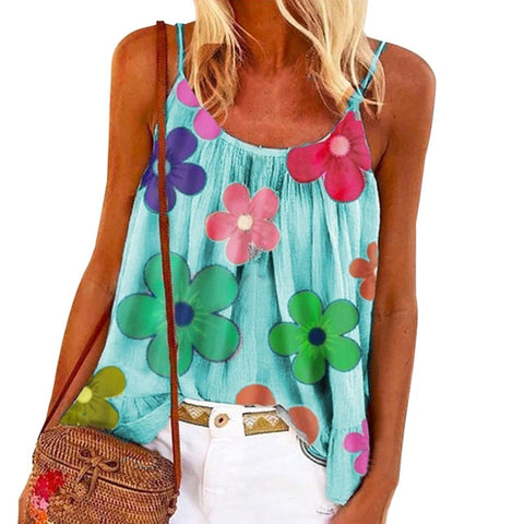 2020 Summer Backless Sleeveless Straps Shirt Spring Casual Beach Tops