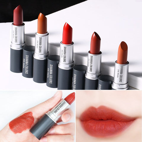 Sivanna Matte Fog Surface Moisturizing Lipstick Clarinet Pepper Bullet