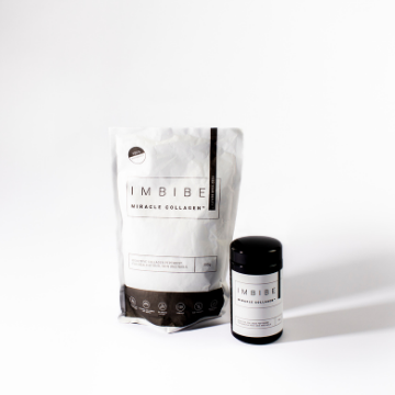 Save 15% when you purchase the Imbibe Miracle Collagen and refill bundle. Official Imbibe stockist. Shop with Afterpay and free shipping.