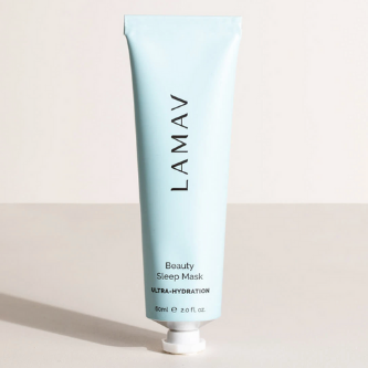 LaMav Beauty Sleep Mask. A dewy hydrating sleep mask that will help repair, restore and rejuvenate your skin overnight. Shop at Skinbase Beauty.